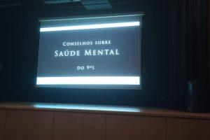 Conselhos dos finalistas 9º1 20-21 para preservar a Saúde Mental dos mais jovens