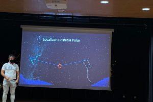"""Palestra """"Astronomia-Sistema Solar e suas caraterísticas"""" e observação diurna"""